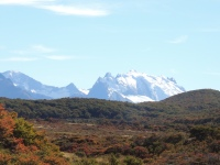 Patagonian Autumn offers a stunning variation on the colours in the parks.