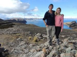 Postcard views from the Isla del Sol, Bolivia.