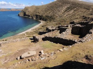 A view of some of the 80+ Incan ruins along the short trail.
