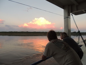 The view each evening from our cargo boat was the icing on a stunning experience along Bolivia's Rio Mamorè.