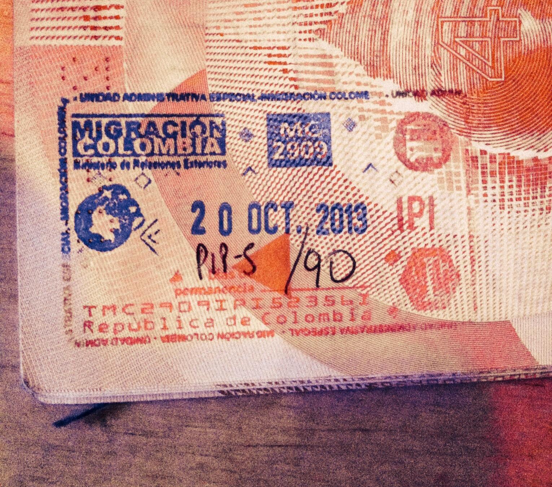 letters written colombia journey caracas