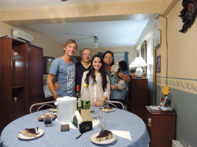My amazing Argentinian family in Salta, May 2013.