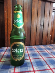 When all else fails, find a cold Solera...